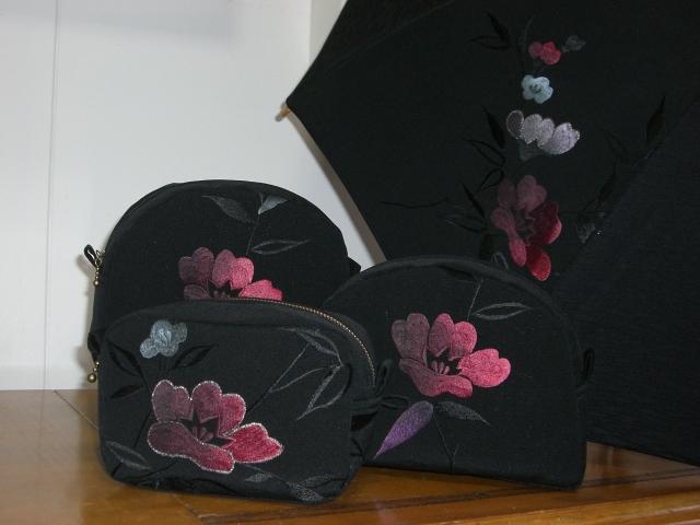 着物リメイクブログ@絵羽織リメイクのお手本のような柄の使い方