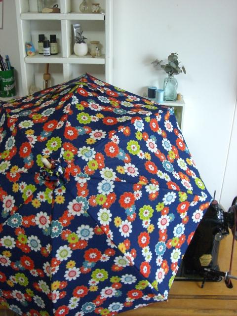 着物リフォームブログ@日傘の製作ノウハウは業界随一だと思います。