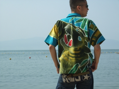 着物リフォームブログ@着物から作るアロハシャツを紹介したいと思います