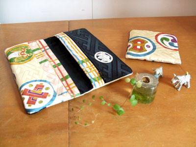 製作実例@お宮参りの一つ身のリメイクはこんな商品で♪