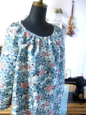 カナタツブログ@古い羽織から…お客様お気に入りのチュニック/ポーチへ着物リメイク