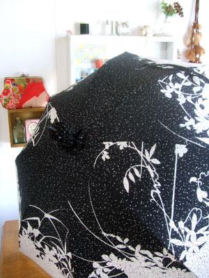 カナタツブログ@1枚の着物から2本の日傘をリメイクしました