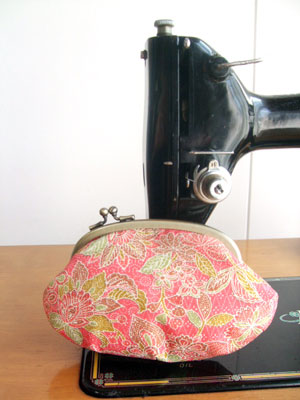 着物リメイクブログ@着物リフォームの作り方…残布からのがま口/巾着/ハンドバッグ編
