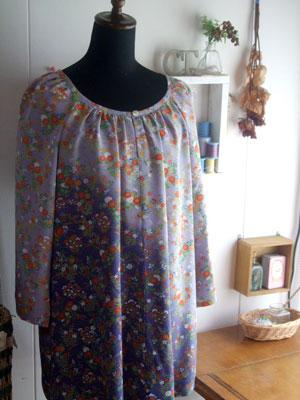 着物リメイクブログ@着物リメイクでの洋服の作り方の基本のポイント(チュニックとポーチ編)