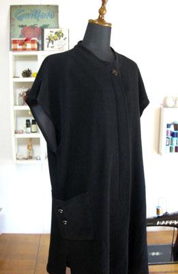 着物リメイクブログ@着物リメイクで服を作る…サンプルからロングベストを作る