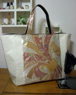 着物リメイクブログ@ハンドバッグの作り方…「帯編」&「振袖編」