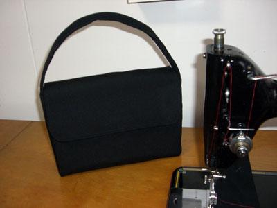 着物リメイクブログ@羽織からリメイクしたハンドバッグ
