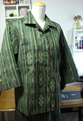 着物リメイクブログ@着物リメイクで服を作る時の注意点とつくり方。型紙の有無が重要編
