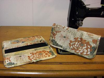 着物リメイクブログ@帯リメイクでの財布の作り方