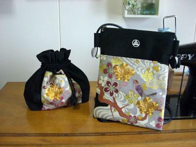 着物リメイクブログ@金駒刺繍の入った留袖のリメイクの方法。