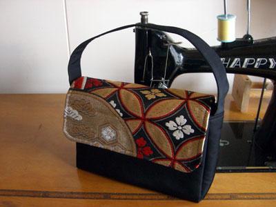 着物リメイクブログ@使わない帯を活用しよう!帯リメイクでハンドバッグ製作
