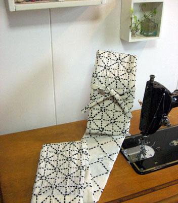 着物リフォームブログ@剣道着から竹刀袋、帯からテーブルセンターをリメイク!