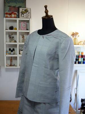 着物リフォームブログ@着物をリメイクしてスーツを作る…当店の作り方
