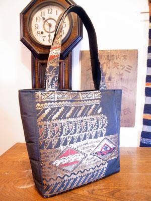 着物リフォームブログ@カナタツ商店流の帯リメイクトートバッグの作り方