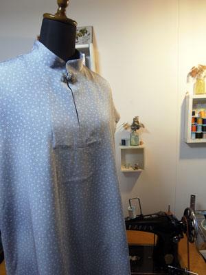 着物リフォームブログ@着物リメイクのスーツとチュニックの作り方や型紙について