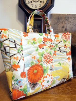 着物リメイクブログ@とても素敵なメールと着物リメイクハンドバッグ