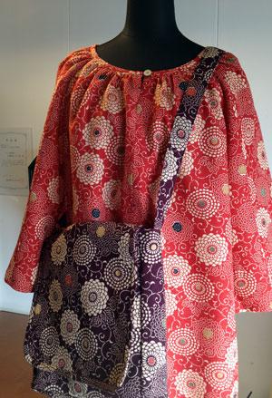 着物リフォームブログ@同じ柄、違う色…2枚の着物を活かしての着物リメイク実例