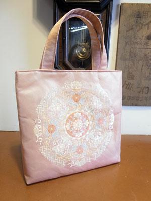 着物リメイクブログ@帯リメイクのお勧め…こんなバッグは幅広い帯からリメイク出来ます!