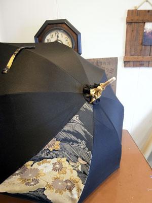 着物リメイクブログ@留袖リメイクで日傘を作る…2本製作出来ます。