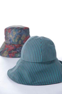 着物リメイクブログ@着物リメイクの帽子編…クロッシェ&キャップリーヌ