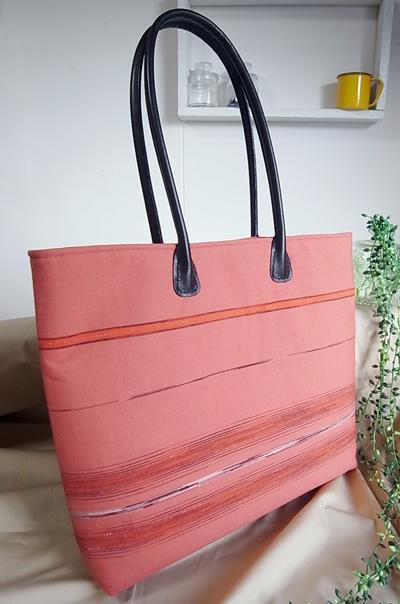 別注持ち手のハンドバッグ実例…岡山のお客様に納品させて頂きました。