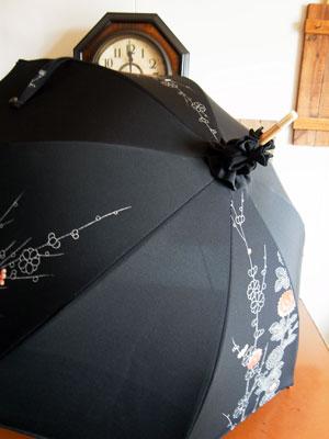 着物リフォームブログ@絞りの生地をリメイクする事と着物リメイク日傘の注意点
