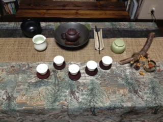 丸帯からお茶席用のカバーを作る。