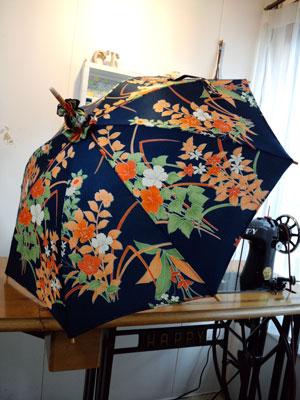 一番人気!着物リメイク日傘
