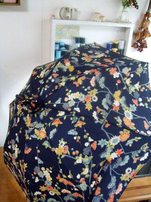 着物リメイク商品…「日傘ケース」
