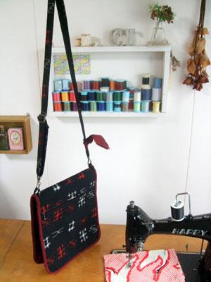 着物リメイクの作り方…「ショルダーバッグ」編