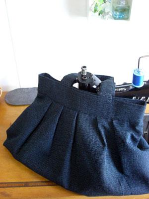 着物リメイクのグラニーバッグとショルダーバッグ