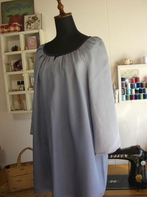 着物リメイクチュニックの作り方。こうすると安く作れます!