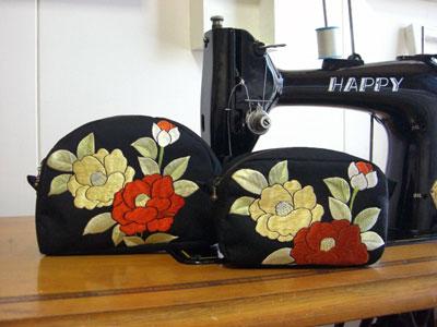 絵羽織のリメイク実例とお客様からのメール