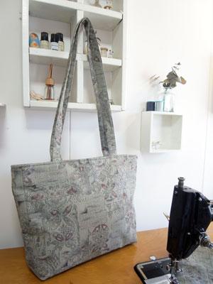着物リメイクトートバッグ…カナタツ商店の作り方