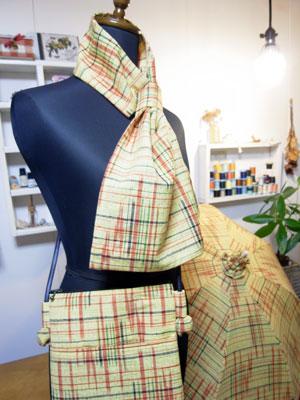 当店人気の着物リメイク3点セットについて綴ります。