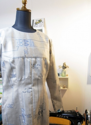 着物リフォームブログ@型紙無しで作ることが出来る着物リメイクの方法