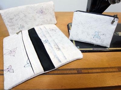 着物リメイクで作る長財布。お客様の声から生まれました!