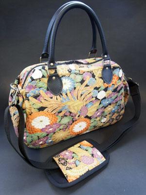 着物リメイクブログ@着物リメイクで作るボストンバッグの適性サイズと残布活用術