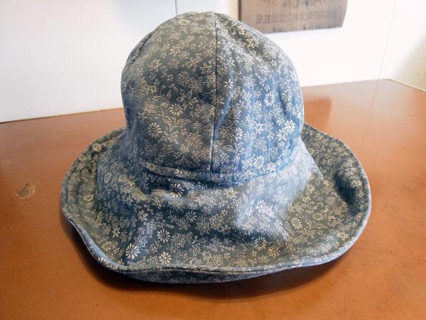 着物リメイクブログ@1枚の着物を使ってのリメイク…ベスト・帽子・バッグを製作しました。