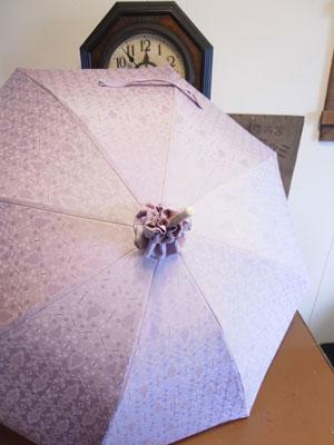 着物リメイクブログ@着物リメイク日傘論と着物のヤケに関して
