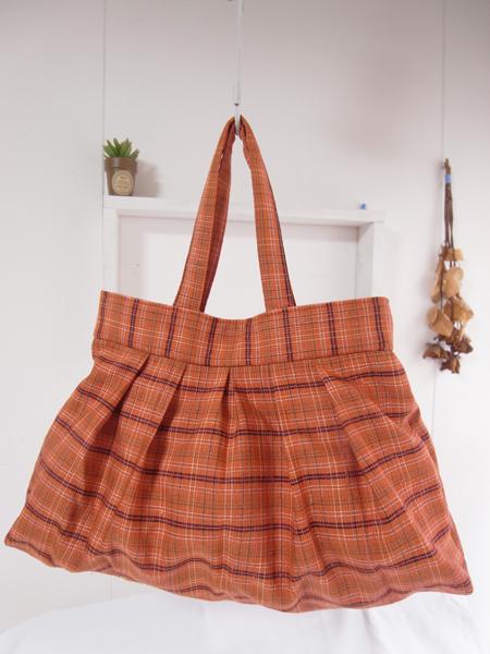 着物リメイクグラニーバッグ実例 北海道のお客様もお気軽にご相談下さい