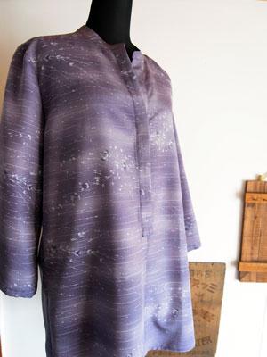 羽織リメイクチュニック実例 目黒区のお客様もお気軽にご相談下さい