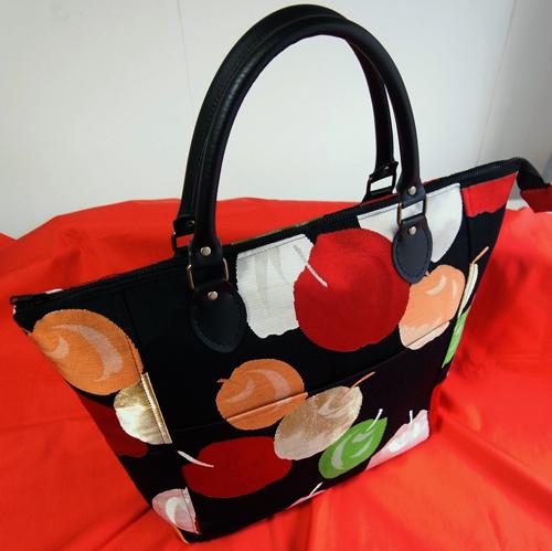 帯リメイクトートバッグ…この帯、いつの時代のものだと思いますか?