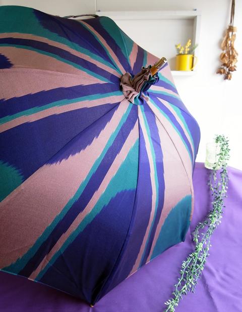 着物リメイク日傘と佐賀のお客様に頂いたご感想