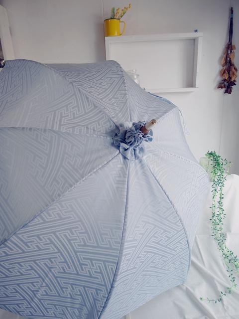 群馬のお客様に頂いた着物リメイクご感想と着物リメイク日傘