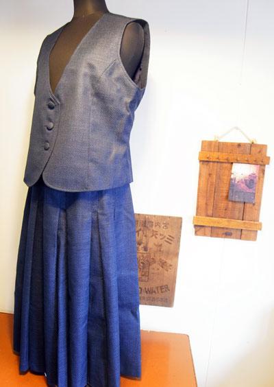 サンプルから製作する着物リメイクとご感想